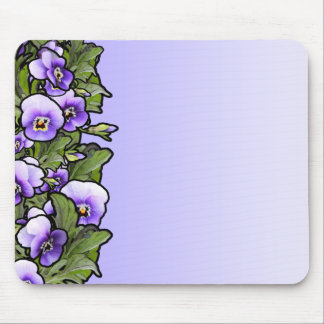 Violet Field Mouse Pad