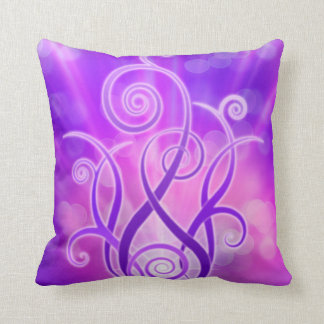 Violet Flame / Violet Fire Cushion