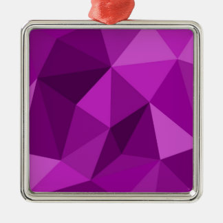 Violet flat wrapping surface pattern christmas ornament