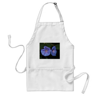Violet  flowers standard apron