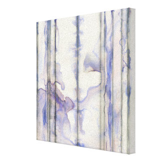 Violet Free Expression Watercolor Canvas Print
