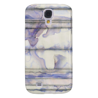 Violet Free Expression Watercolor Galaxy S4 Case