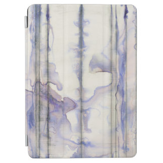 Violet Free Expression Watercolor iPad Air Cover