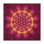 violet gold mandala leinwand drucke