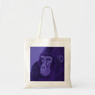 Violet Gorilla Tote