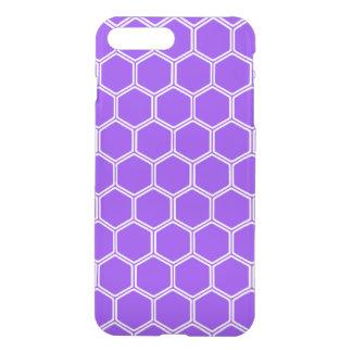 Violet Hexagon 1 iPhone 7 Plus Case