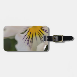 violet in the garden luggage tag