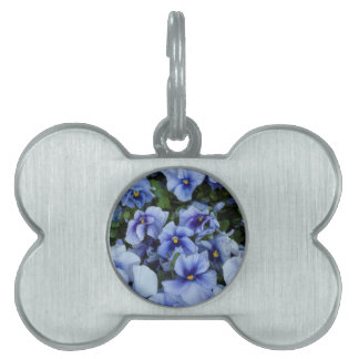 violet in the garden pet ID tags