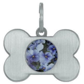 violet in the garden pet name tag