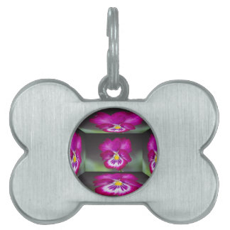violet in the garden pet name tags