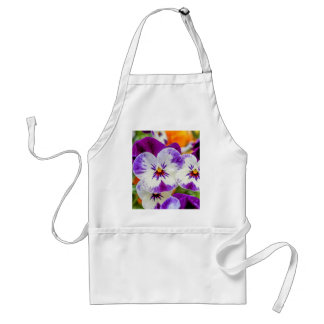 violet in the garden standard apron
