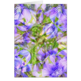 Violet Kaleido Card