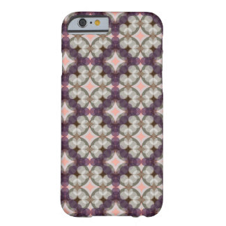 Violet Kaleidoscope Pattern Barely There iPhone 6 Case