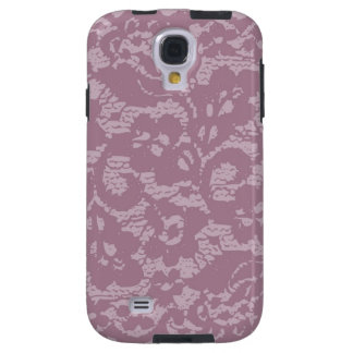 Violet lace galaxy s4 case