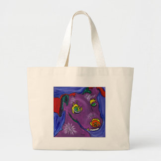 VIOLET LARGE TOTE BAG