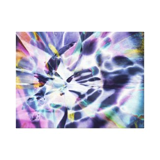 Violet Light Canvas Print