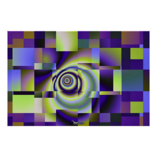 Violet Maze Poster