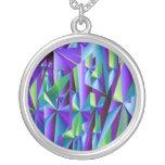 Violet. Necklace