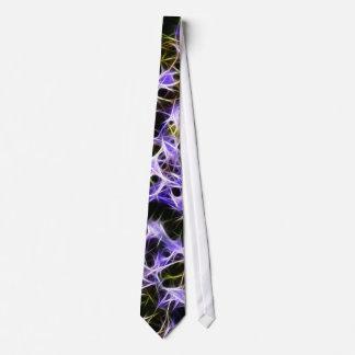 Violet net tie