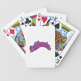 Violet on Violet Bicycle Poker Cards