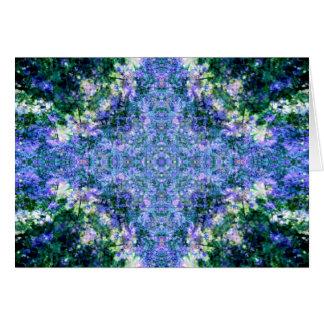 Violet Overload Mandala Card