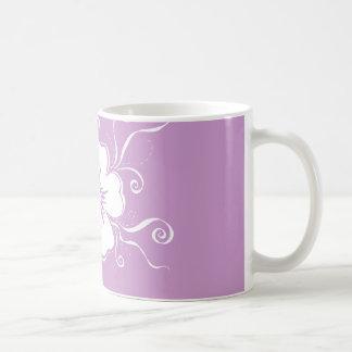 Violet Playful Pansy Mug