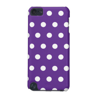 Violet Polka Dot iPod Touch 5G Covers