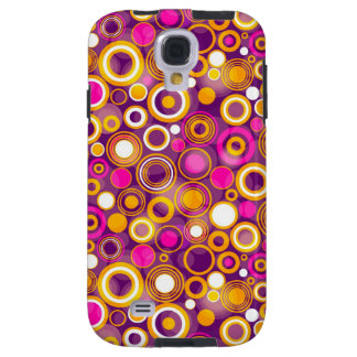 Violet Polka Dot Pattern Galaxy S4 Case