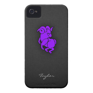 Violet Purple Aries iPhone 4 Cover
