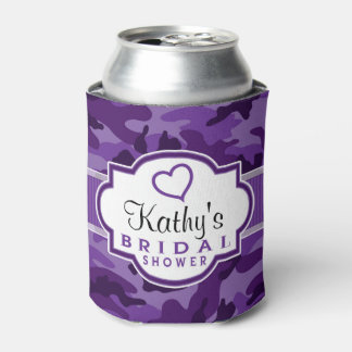 Violet Purple Camo, Camouflage Bridal Shower