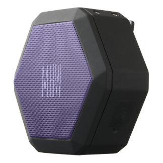 Violet Purple Gradient custom monogram speaker