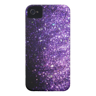 Violet Purple iPhone Sparkle Glitter Case