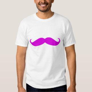 Violet Purple Mustache Tees