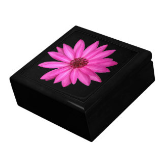 Violet Purple Pink Lotus Flower Gift Box