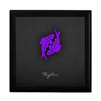 Violet Purple Pisces Gift Box