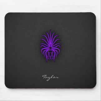 Violet Purple Virgo Mouse Pad