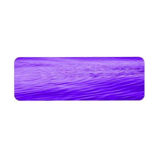 Violet Purple Water