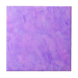 Violet Purple Watercolor Texture Pattern Tile