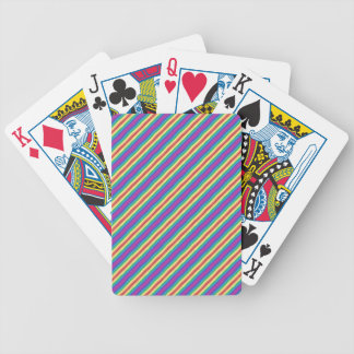 Violet Rainbow Bicycle Playing Cards