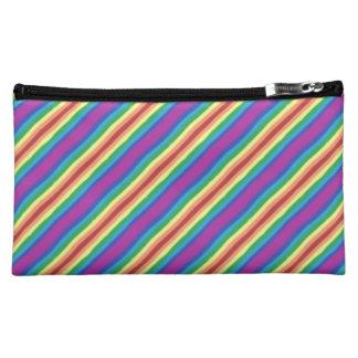 Violet Rainbow Cosmetic Bag