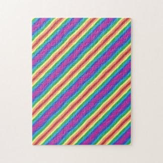 Violet Rainbow Jigsaw Puzzle