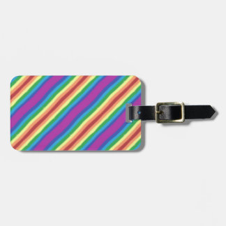 Violet Rainbow Luggage Tag