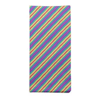 Violet Rainbow Napkin