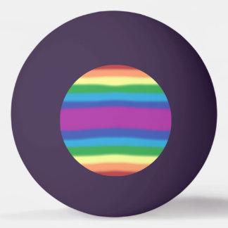 Violet Rainbow Ping Pong Ball