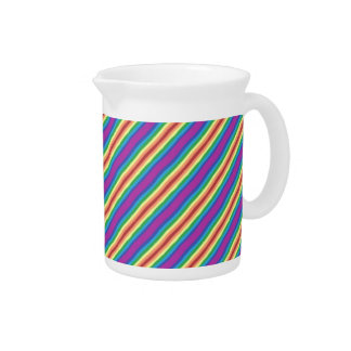 Violet Rainbow Pitcher