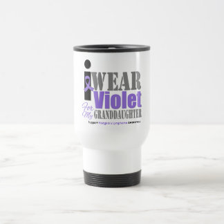 Violet Ribbon Granddaughter - Hodgkin's Lymphoma Mugs
