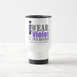 Violet Ribbon Twin Brother - Hodgkin's Lymphoma Mug