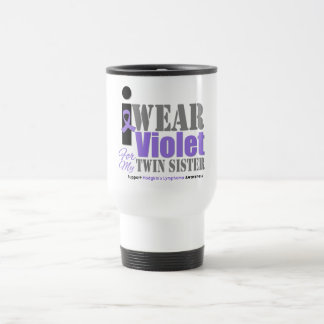Violet Ribbon Twin Sister - Hodgkin's Lymphoma Coffee Mug