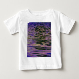 Violet Ripples Baby T-Shirt
