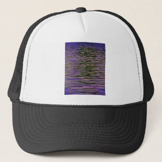 Violet Ripples Trucker Hat